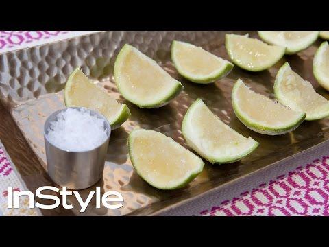 DIY: Frozen Margarita Lime Shots | InStyle
