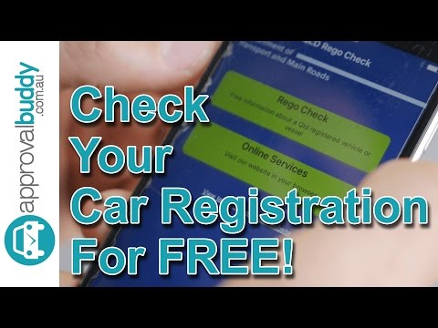 How To Check Your Car Registration For Free (In Queensland)