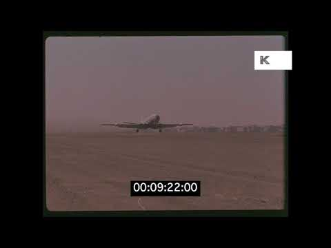 1950s Khartoum Airport, Sudan in HD from 35mm | Kinolibrary