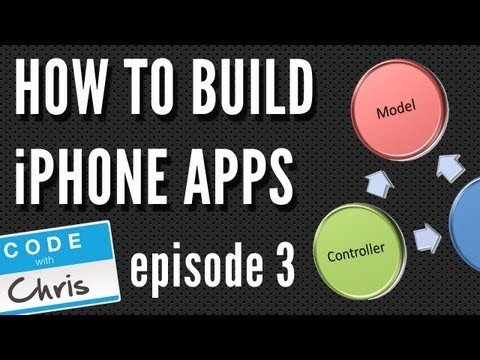 How To Build iPhone Apps - S01E03: iOS Architecture Model View Controller (MVC)