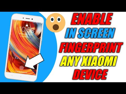 Download Redmi 5a Finally Enable In Screen Fingerprint | How