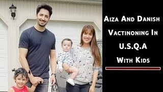 Aiza Khan and Danish Taimoor at Vacation | Pictorial Video | Pakistani Celebrities