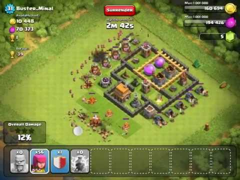 Clash of Clan - Demo of Spell
