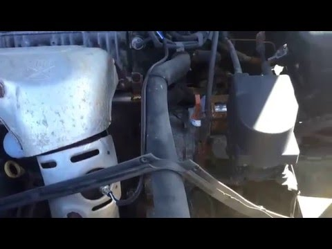 2001 Toyota Camry Transmission Fluid Check