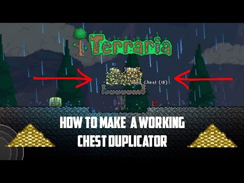Terraria ios 1.2.4 | Working Chest Duplicator (Unlimited Coins!!!) Working 2017