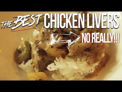 The Best Chicken Livers - No Really! SAM THE COOKING GUY recipe