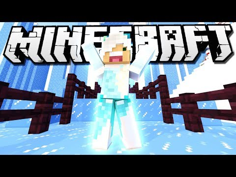MY NEW ICE CASTLE! | Minecraft Build Battle