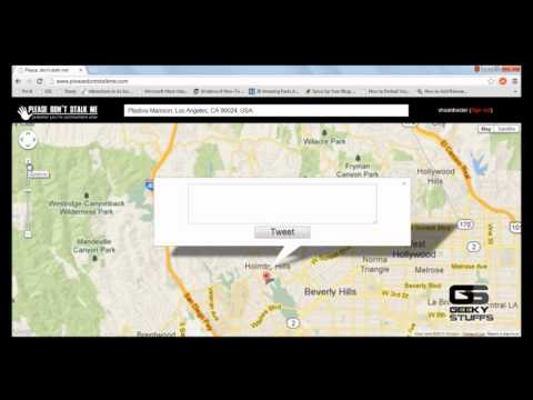 How to Geotag Your Tweets from A Fake Location