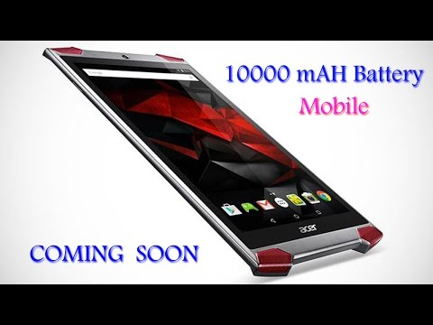 COMING SOON TOP 5 Mobile Phones With 6020mAh Battery from 10000 mAH Battery  launching  in  2017  HD