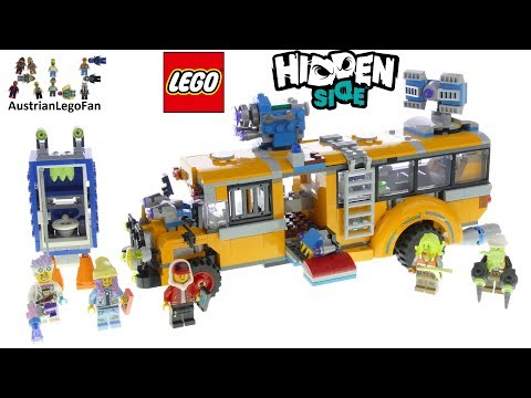 Lego Hidden Side 70424 Ghost Train Express Speed Build