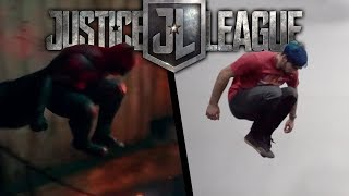 Stunts From Justice League In Real Life (DC Movie)