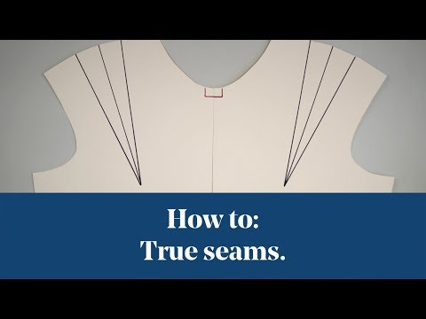 How To: True | Truing Seams (Pattern Cutting)