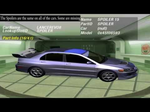Need For Speed:Underground 2: beta Car Customization