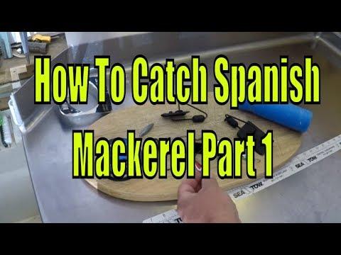 How To Catch Spanish Mackerel - Part 1