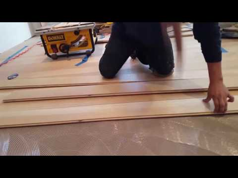 Gluing Wood Floors to Concrete