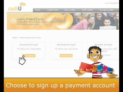 cashU - How to open a payment account at cashU.wmv