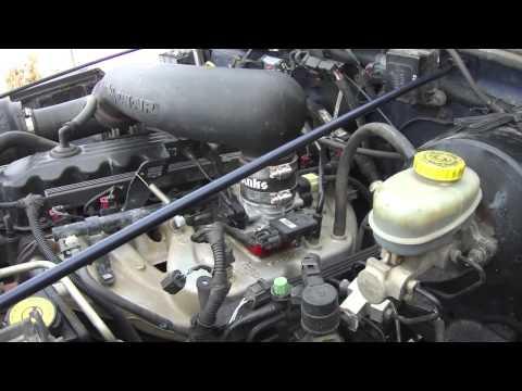 Poweraid Throttle Body Spacer on a Jeep TJ