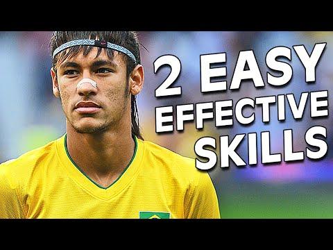Learn 2 Easy & Amazing Neymar Football Skills Tutorial
