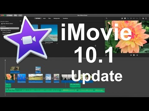 iMovie 10.1 Update - New Features