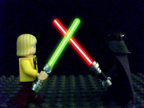 Tutorial: How to make a Lego Lightsaber Glow Effect