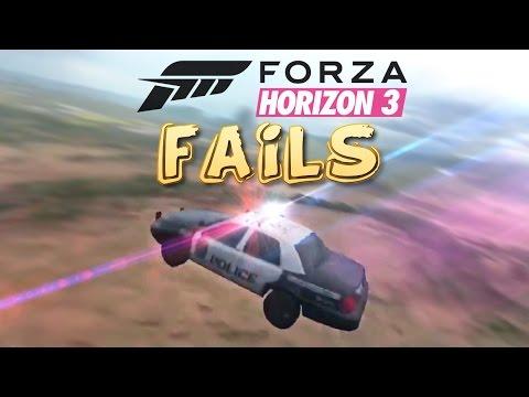Forza Horizon 3 FAIL Compilation