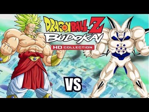 Dragon Ball Z Budokai 3 HD - Broly vs Omega Shenron