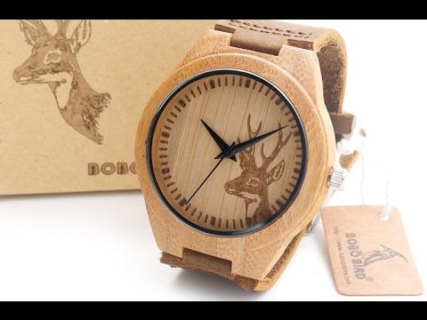 Деревянные наручные часы из китая