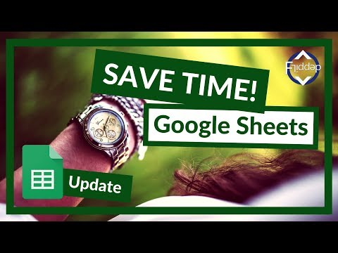Save time in Google Sheets with Macros - GOOGLE SHEETS UPDATE 2018