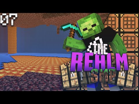 Minecraft PE Realms SMP E7 - Swimming in the Nether (MCPE 0.15.4 Multiplayer)
