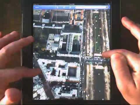 iPad App Overview:  Google Earth