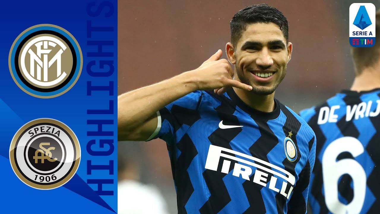 Inter 2-1 Spezia | Inter Closing in on Top Spot with 6th Consecutive Win! | Serie A TIM