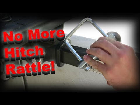 How to eliminate hitch rattle with the Hitch Clamp
