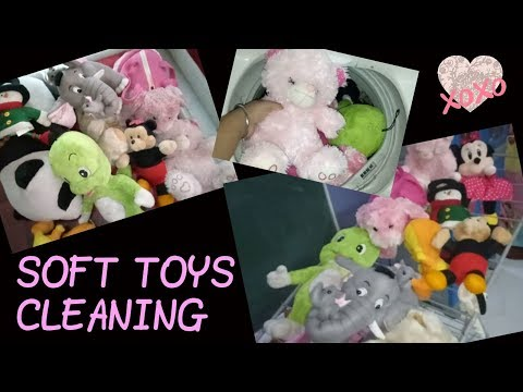 EASY WAY TO CLEAN SOFT TOYS/ TEDDY/ SOFT TOYS CLEANING BY BHAVNA