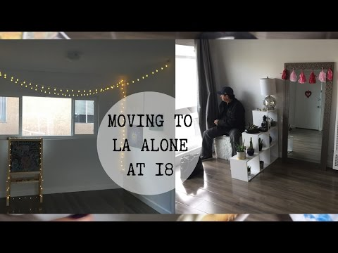 MOVING TO LA ALONE AT 18/ APARTMENT TOUR | GIANA MARIS