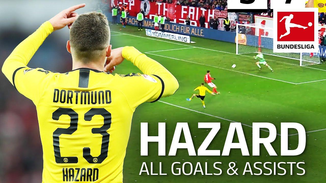 Thorgan Hazard • All Goals & Assists 2019/20