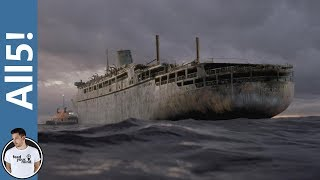 5 Creepy Real Life Ghost Ships!