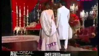 fawad n mahira on ramp at pfdc l'oreal paris bridal week day 4