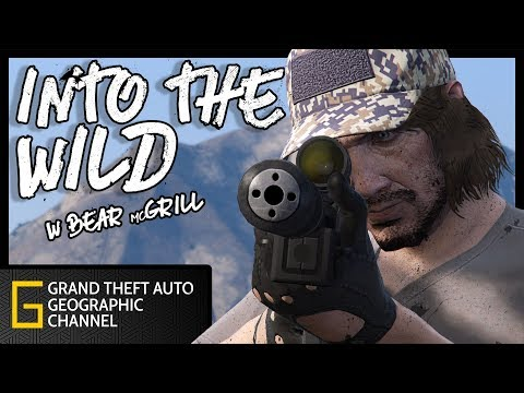 Into The Wild | GTA 5 Online survival documentary | Born Survivor spoof