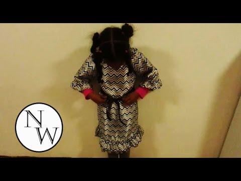 Ruffle Peasant Dress Tutorial
