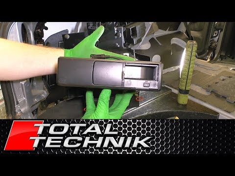 How to Remove CD Changer (Avant) - Audi A6 S6 RS6 - C5 - 1997-2005 - TOTAL TECHNIK