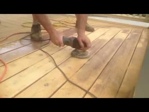 How to Strip Peeling Sikkens Stain from a Deck