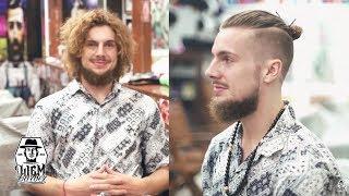 The Undercut Man Bun | Liem Barber Shop