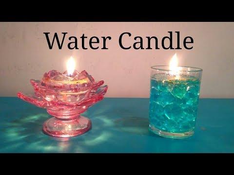 DIY Water Candle || Diwali Decoration ||