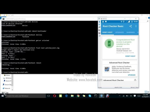[Hovatek] How to root an Android device using Magisk Manager and stock boot img