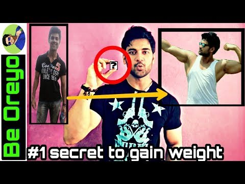 Secret to gain weight fast,easy,healthy(for men & women) Skinny to muscular naturaly(English,Hindi)