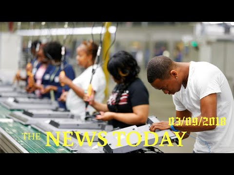 Strong U.S. Job Growth Forecast; Unemployment Rate Seen At 4 Percent | News Today | 03/09/2018 ...