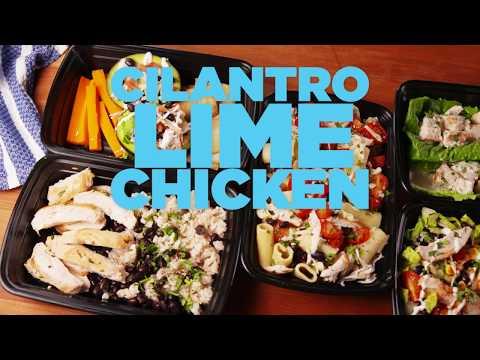 Cilantro Lime Chicken 5 Ways   Weekly Meal Prep   Delish