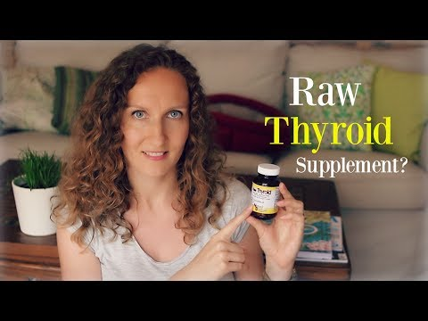 What Happened When I Took a Raw Thyroid Supplement