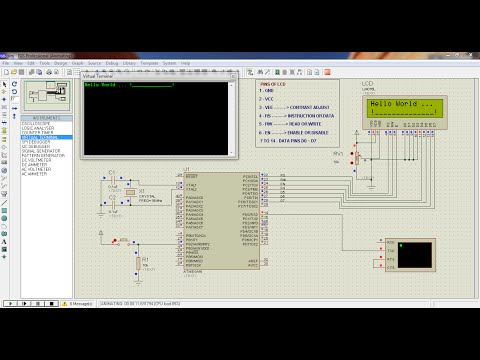 USART and serial interrupts of ATMEGA16 - Codevision and Proteus