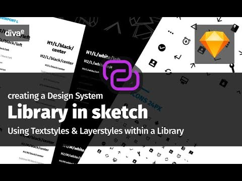 Creating a Design System Library in sketch